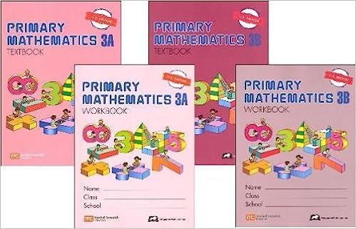 Primary Mathematics Grade 3 SET--Textbooks 3A and 3B, Workbooks 3A ...