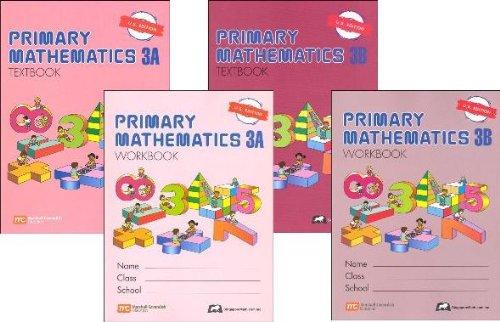 (Primary Mathematics Grade 3 SET--Textbooks 3A and 3B, Workbooks 3A and 3B)