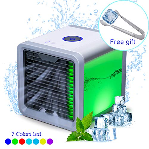 YACHANCE portable air conditioner fan personal space air cooler evaporative cooler desk fan mini small ac unit cooling fan swamp USB Desktop Cooling Fan by YACHANCE