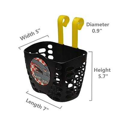 YL TRD Universal Child Scooter Basket Kids Bike Basket Handlebar Basket for