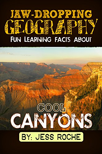Jaw-Dropping Geography: Fun Learning Facts About Cool Canyons: Illustrated Fun Learning For Kids