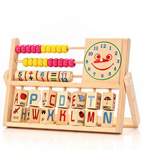 2 Wooden Jengas (1 Colorful, 1 with numbers) - 4