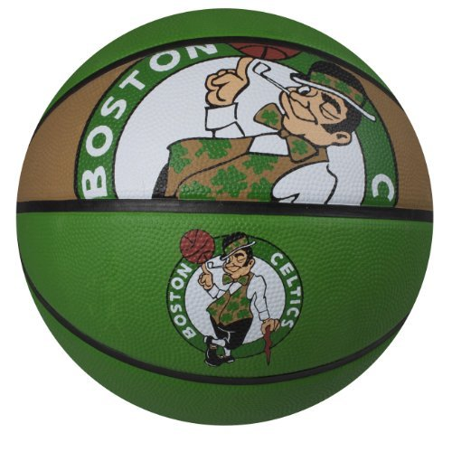 fan products of Spalding NBA Boston Celtics Courtside Rubber Basketball
