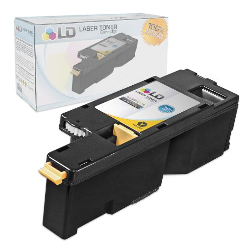 LD Compatible Toner Cartridge Replacement for Dell 331-0779 WM2JC High Yield (Yellow)