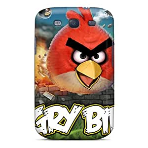 Galaxy S3 Case Cover With Shock Absorbent Protective PaG2503LTWp Case