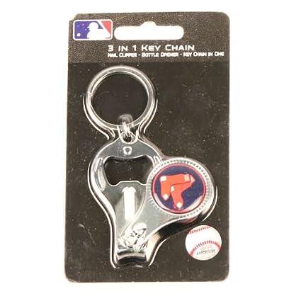 Amazon.com: Nueva MLB Boston Red Sox 3 en 1 abrebotellas ...