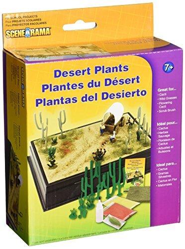 Woodland Scenics SP4124 Desert Plants Diorama Kit by Woodland Scenics