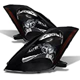 350z stock rims - Xtune HD-JH-N350Z-HID-BK Nissan Halo Headlight