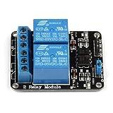 SainSmart 5V 2-Channel Relay Module Shield Control Board for Arduino Raspberry Pi Arduino 8051 AVR PIC DSP ARM ARM MSP430 TTL Logic