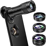 Phone Camera Lens, VPKID 4 in 1 Phone Lens Kit 14X Zoom Telephoto