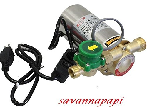 90W Electronic Automatic Water Booster Pump for Shower/Washing Machine (Hot Water Pressure Booster compare prices)
