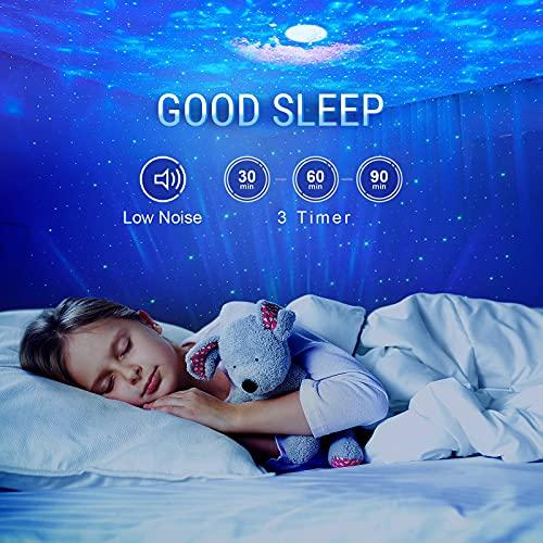 Planetarium Projecteur,Projecteur Ciel Etoile,Lumiere Galaxie UFO Plafond Led pour Enfants Bébé Adulte,Veilleuse Lampe Galaxy Nuege Nova,Star Light Projector avec Télécommande&Timer&Bluetooth
