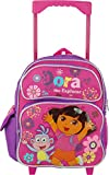Dora the Explorer 12 Inch Toddler Rolling Backpack