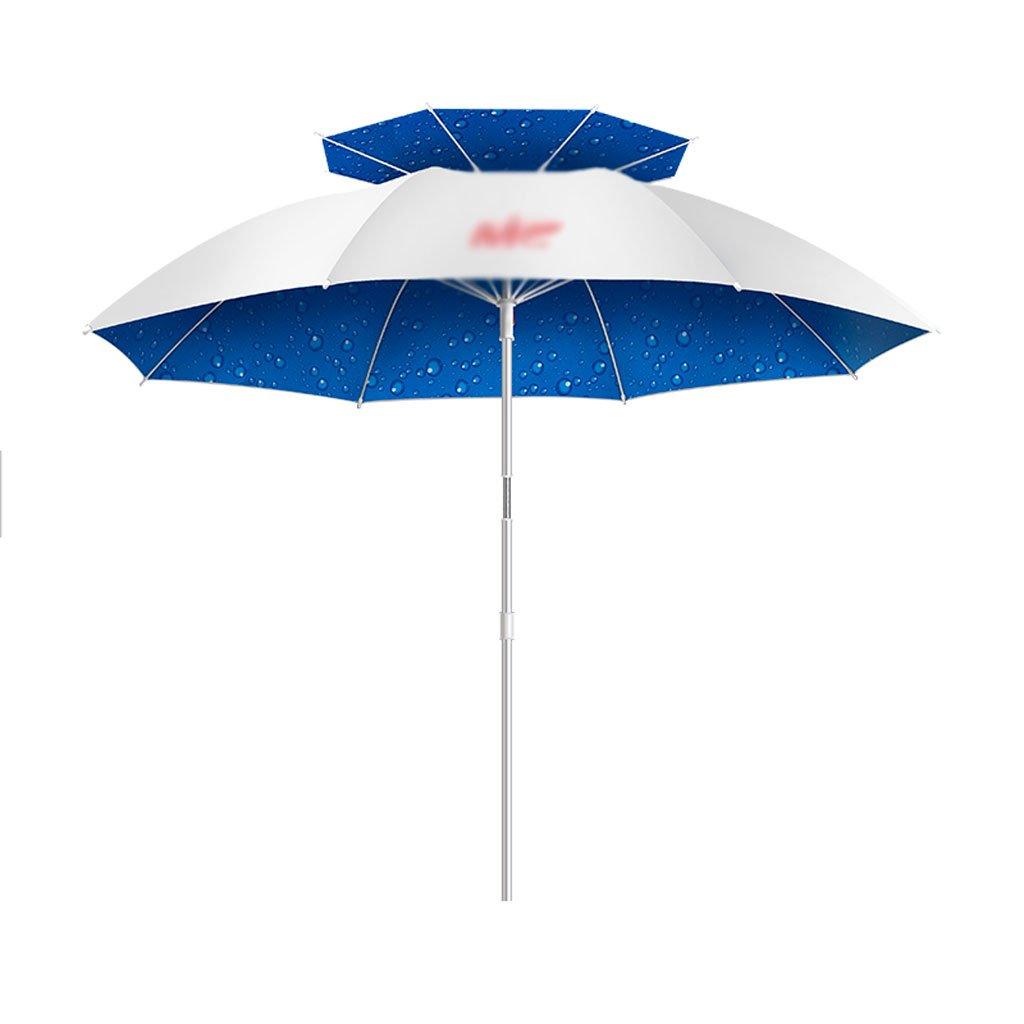 LSS Ombrello da esterno   Ombrello da pesca   2m   Universale   A prova di pioggia   Pieghevole   Ombrello da pesca all'aperto   Ombrellone   Protezione solare   Ombrello da pesca doppio   Ombrello ultraleggero ( colore   C )