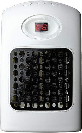 homclo Mini Calefacción Ventilador Enchufe con termostato cerámica ...