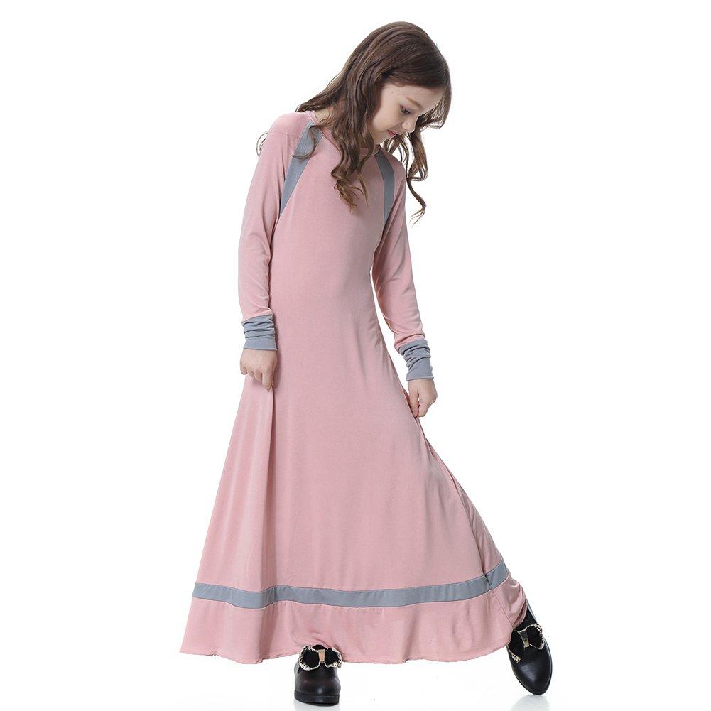 Ocamo - Vestido étnico tradicional para niñas, para Rosado ...