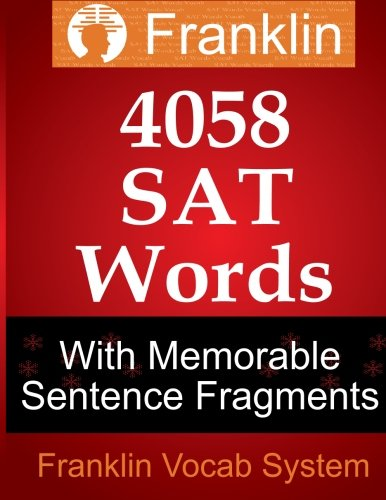 Franklin 4058 SAT Words With Memorable Sentence Fragments