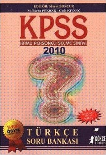 Kpss Türkçe Soru Bankasi Kolektif Amazoncomtr