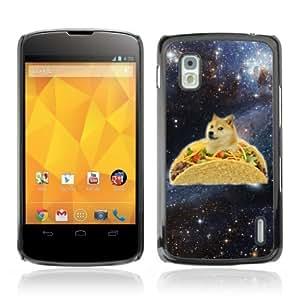 YOYOSHOP [Funny Taco Dog Meme Illustration] LG Google Nexus 4 Case