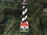 Gather 'round and celebrate the holidays with this St. Augustine Lighthouse Decoration Christmas Tree Ornament 7 inch. Perfectly combining the warmth of the holiday season and the nautical sea-faring lifestyle, this lighthouse decoration ligh...