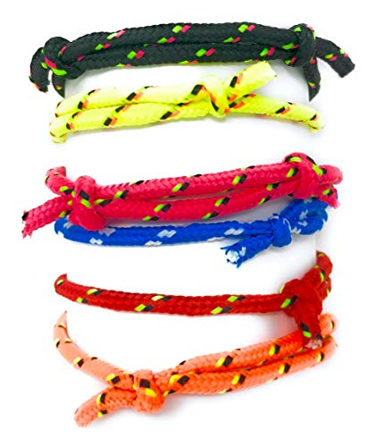 Sea View Treasures Bulk 200 Pack Braided Friendship Bracelet 6 Color Assortment