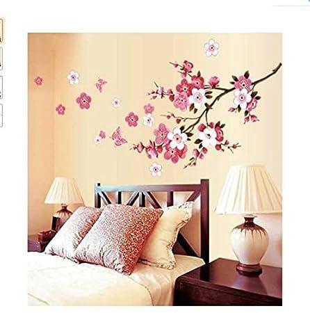 Romote Flores de Cerezo del árbol Etiquetas de la Pared Flores ...