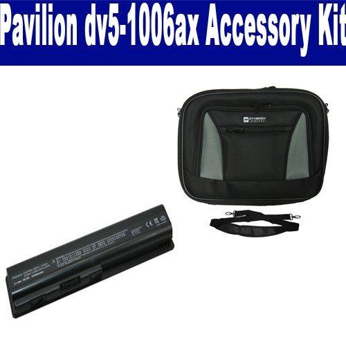 HP Pavilion dv5-1006ax Laptop Accessory Kit includes: SDC-32 Case, SDB-3330 ()