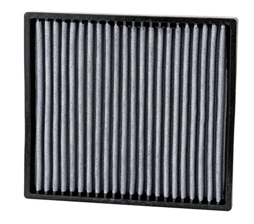 K&N VF2007 Washable & Reusable Cabin Air Filter Cleans and Freshens Incoming Air for your Hyundai, Kia