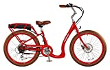 Pedego Boomerang Red with Brown Balloon Package 36V 15Ah