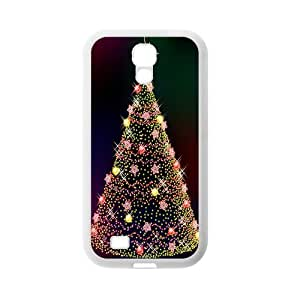 Custom Christmas Tree Back Cover Case for SamSung Galaxy S4 I9500 JNS4-092