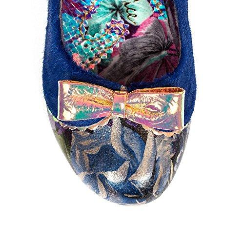 Irregular Choice - Zapatos de vestir para mujer Azul azul