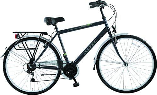 Hoop Bicicleta Holandesa para Hombre Altec Metro Gris 7-de 53 cm ...
