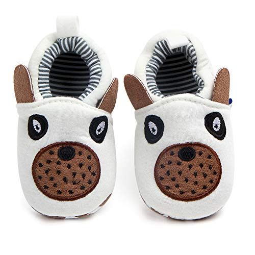 Boys Girls Cute Slippers Cozy Booties Moccasins Gift Shoes ()
