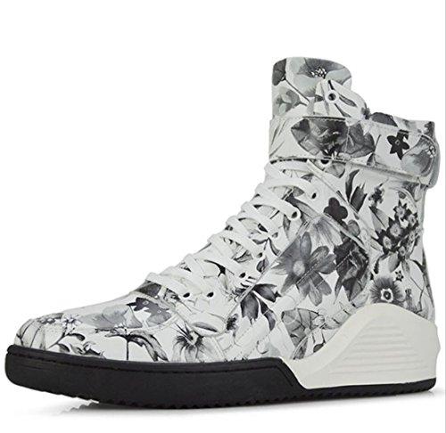 Martin Martin Martin scarpe stivali alta uomo Chelsea aumento da maschile casual moda WSK gray scarpe moto fdwx1f