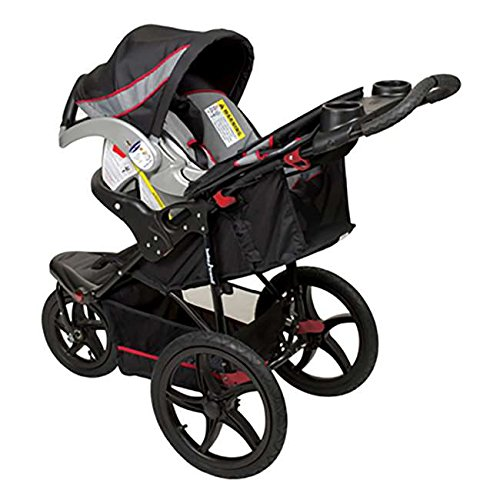 Baby Trend Expedition Swivel Jogging Stroller & Infant Car Seat Travel System