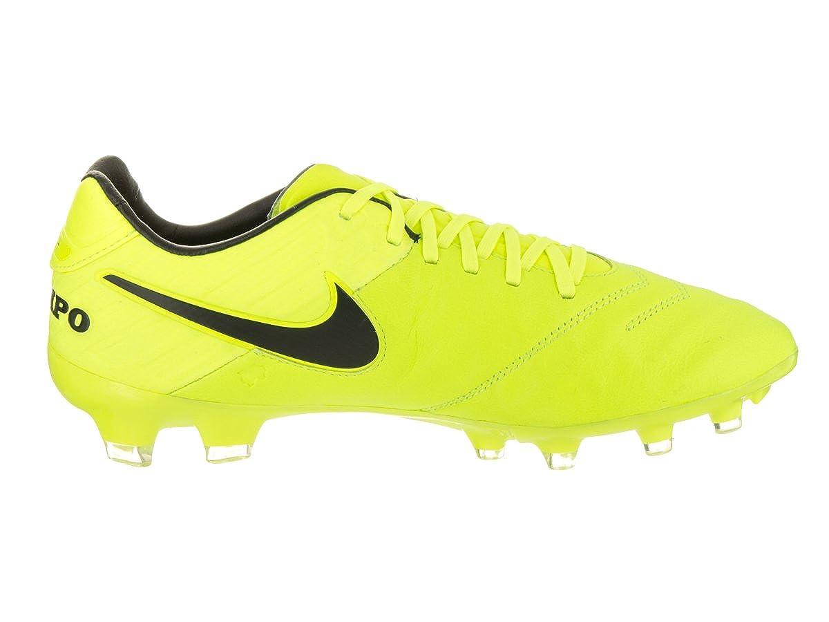 NIKE Grapa Nike Tiempo Legado II FG de fútbol 7 de EE.UU. Hombre Voltios voltios  Negro 6 Reino Unido  Amazon.es  Zapatos y complementos 447a248fe93a8