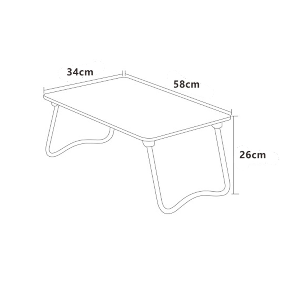 PENGFEI Foldable Laptop Stand for Desk Portable Bed Table Hospital Breakfast Tray College Students Dorm Room Learn Read, 4 Colors (Color : B, Size : 58x34x26CM) by PENGFEI-xiaozhuozi (Image #5)