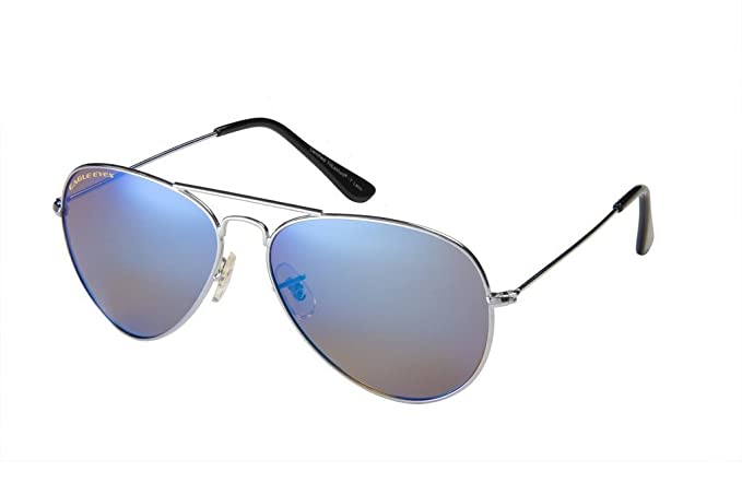 4c0e883bf2 Eagle Eyes Mirrored Polarized Sunglasses - Celebrity Classic Aviator  Sunglasses