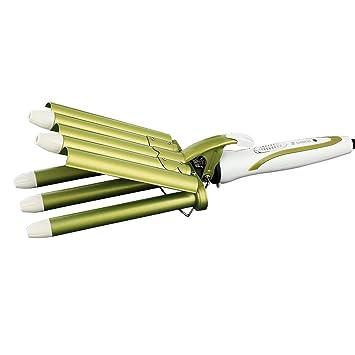 Jmung Rizador De Pelo de 5 Barras Rizos Ondas para Peinados Rizados Y Ondulados: Amazon.es: Deportes y aire libre