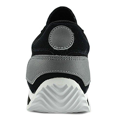 Onitsuka Tiger California 78 Mens Black Leather Athletic Running Shoes KrmYO