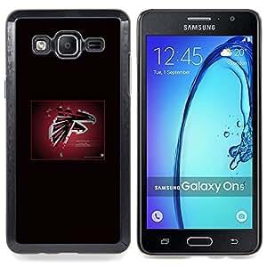 SKCASE Center / Funda Carcasa protectora - Atlanta Falcon ;;;;;;;; - Samsung Galaxy On5 O5