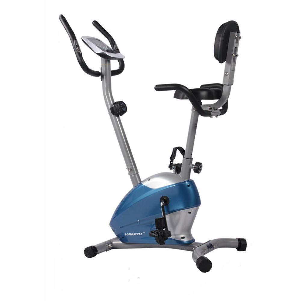 室内自転車 フィットネスバイク 屋内サイクリングバイク、サイクルトレーナーエクササイズ自転車の心拍数フィットネスステーショナリーバイク、LCDディスプレイ エアロフィットネス バイク   B07SM63LCF