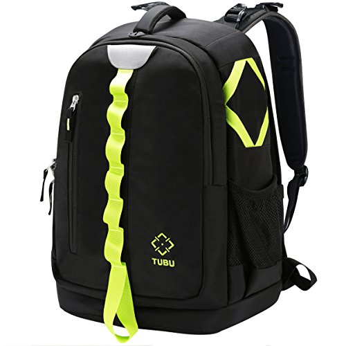 DSLR Camera Backpack Bag Photography Backpack By TUBU Fits 2 DSLR Body, 4-6 Lenses and 14 inch Laptop by TUBU