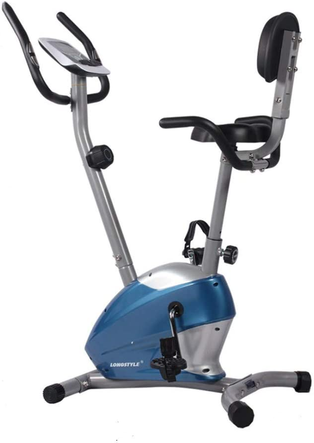 屋内サイクリングバイク、サイクルトレーナーエクササイズ自転車の心拍数フィットネスステーショナリーバイク、LCDディスプレイ