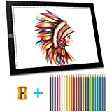A4 Ultra, Mitcien tracing Light pad Thin Portable LED Light Box, USB Power Dimmable Brightness for Artists, Drawing, Sketching, Animation
