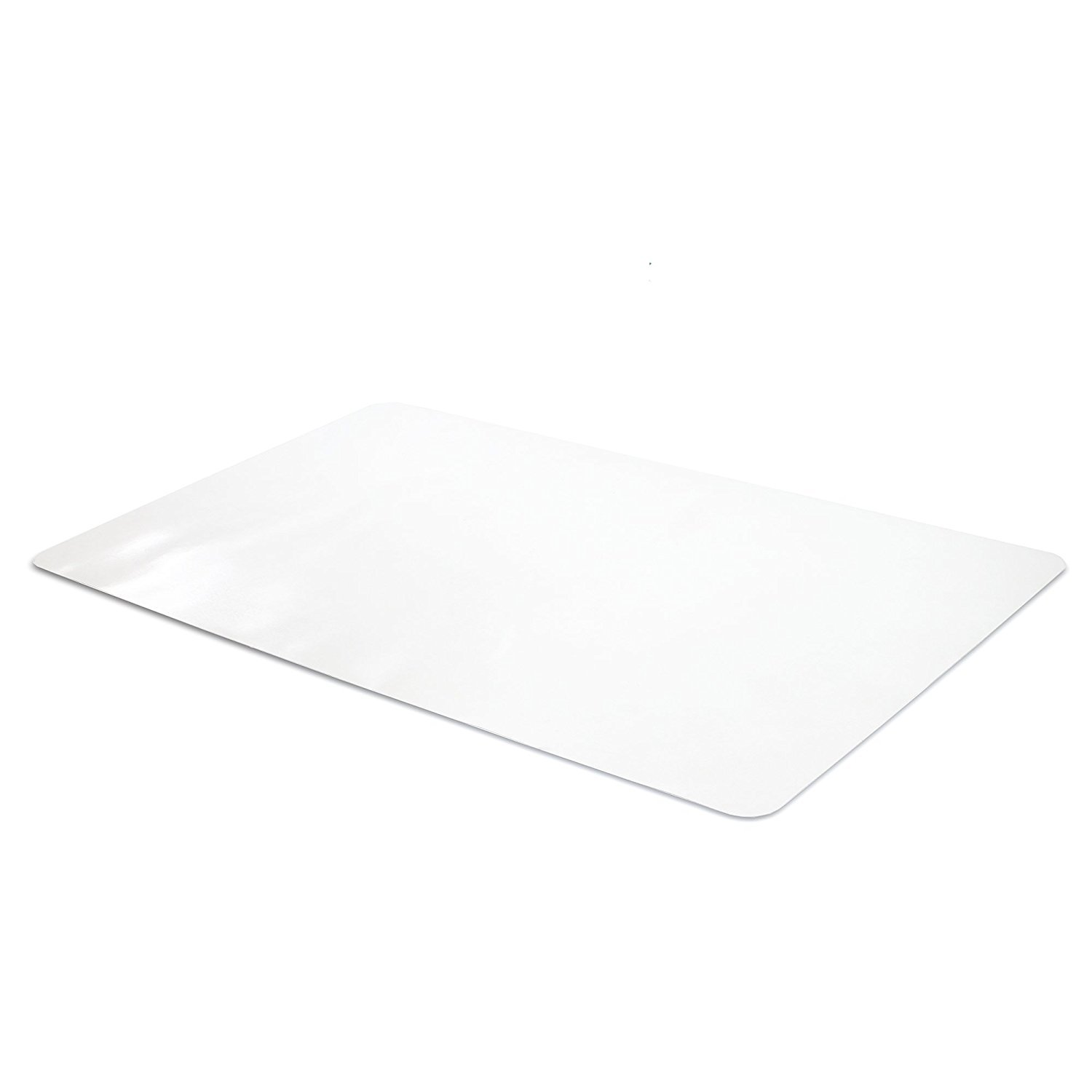 Office Desk Mat Clear Textured - 47 x 23 Inch Plastic Computer Pad for Desk