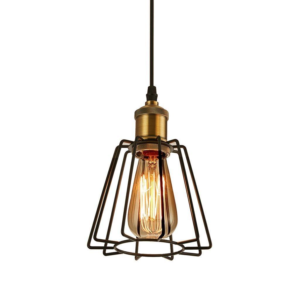 Hanging Pendant Lighting Fixtures Industrial Edison Vintage Style ...