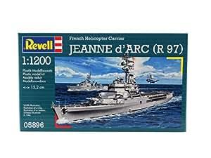 Revell 05896 - Maqueta de barco Jeanne d'Arc R97 (escala 1:1200)