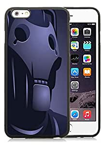 Fashion Custom Designed Ironman Vector iPhone 6 Plus 6th Generation 5.5 Inch Black Phone Case CR-317