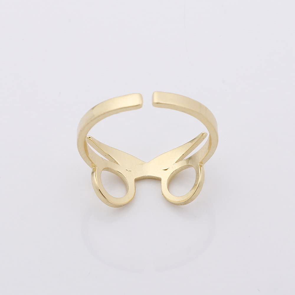 PANGRUI Exquisite Unique Cool Glasses Open Ring Gift Adjustable